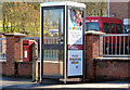 J3771 : Postbox and telephone box, Castlereagh, Belfast by Albert Bridge