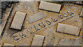 "J3376 : ""GH Laud"" manhole cover, Belfast (2) by Albert Bridge"