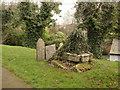 SK6821 : Medieval cross, Grimston by Alan Murray-Rust