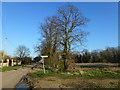 TL3252 : Footpath near Kingston Pastures Farm, Wimpole by Richard Humphrey