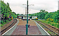 NS2491 : Garelochhead station, 1996 by Ben Brooksbank