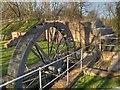 SJ5396 : Stanley Mill, Water Wheel by David Dixon