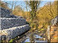 SJ5396 : Stanley Iron Slitting Mill, Stanley Bank by David Dixon