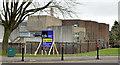 J5081 : Former Bangor Castle leisure centre, Bangor - March 2014(1) by Albert Bridge