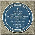 Photo of Edward Lisle blue plaque