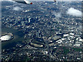 TQ3981 : Leamouth and the Thames from the air by Thomas Nugent