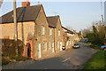 SP9853 : Cottages at West End near Stevington by David Kemp