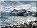 NM7137 : MV Isle of Mull at Craignure Pier by David Dixon