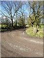 SD5910 : Track to Aberdeen Farm by Philip Platt