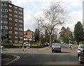 SP0882 : Moseley Birmingham Wake Green Road Crossing Yardley Wood Road by Roy Hughes