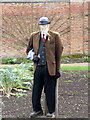 SK6274 : Scarecrow in the Walled Kitchen Garden, Clumber Park : Week 13