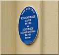 Photo of Rosamund Praeger and Robert Lloyd Praeger blue plaque