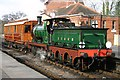 TQ4023 : Locomotive and Coach by Peter Jeffery