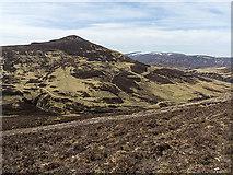 NO0177 : Steep ground west of Stac na h-Iolair by William Starkey