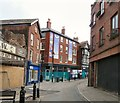 SJ8990 : Lower Hillgate by Gerald England