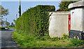 J4691 : Victorian wall box (BT38 286) near Whitehead (2) by Albert Bridge
