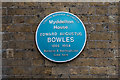 Photo of Edward Augustus Bowles blue plaque