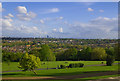 TQ3481 : View over North London and beyond from Alexandra Palace by Julian Osley