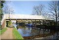 TQ1379 : Footbridge, Grand Union Canal by N Chadwick