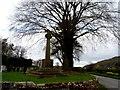 SJ5153 : War memorial, Holy Trinity churchyard, Bickerton by Bikeboy
