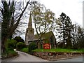 SJ5069 : St John the Evangelist, Ashton Hayes by Bikeboy
