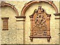 SJ8595 : Terracotta Crest, Victoria Baths by David Dixon