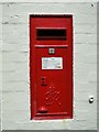 TM3995 : Post box in the wall of the old Post Office by Adrian S Pye