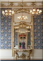 TL0935 : Wrest Park - Drawing Room mirror by Rob Farrow