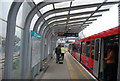 TQ4080 : Royal Victoria DLR Station by N Chadwick