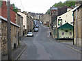 SE2422 : Dewsbury - view up Hartley Street : Week 18