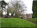 SK2129 : Tutbury churchyard 3-Staffs by Martin Richard Phelan