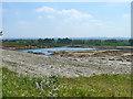SU3395 : Hatford quarry by Robin Webster