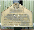 TM3187 : 446th Bomb Group (H) memorial - plaque by Evelyn Simak