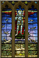 TF0179 : Memorial Stained glass window, St Mary's church, Welton : Week 20
