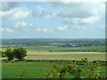 SP9617 : View north from Icknield Way by Robin Webster