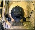SD3788 : Boiler Hearth, Stott Park Bobbin Mill by David Dixon