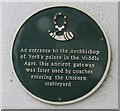 Photo of Green plaque number 42706