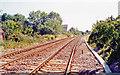 TL5873 : Site of former Soham station, 1991 by Ben Brooksbank