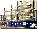 "J3374 : Block ""B"", University of Ulster site, Belfast - June 2014(1) by Albert Bridge"