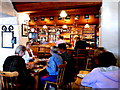 M2208 : County Clare - Ballyvaghan - Monk's Seafood Pub & Restaurant Interior - Pub by Suzanne Mischyshyn