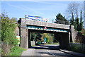 TQ5738 : Railway Bridge, Eridge Rd by N Chadwick