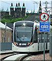 NT2272 : Tram approaching Murrayfield Stadium tram stop : Week 22