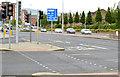 J3573 : Bus lane, Albertbridge Road (EWAY), Belfast  - June 2014(1) by Albert Bridge