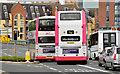 J3573 : Bus lane, Albertbridge Road (EWAY) - June 2014(2) by Albert Bridge