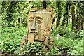 J3268 : Tree carving, Lagan towpath, Belfast (June 2014) by Albert Bridge