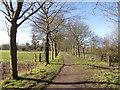 TL9370 : Farm Track off Commister Lane by Kim Fyson
