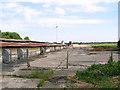 TG1014 : Runway on Attlebridge airfield by Evelyn Simak