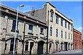 NS5337 : Irvinebank Powerloom Factory, Brown Street, Newmilns by Leslie Barrie