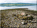 NH6767 : Pile of stones on Ferryton Point : Week 24