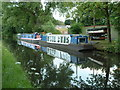 SP0483 : Worcester & Birmingham Canal - boats by Birmingham University : Week 24